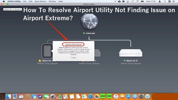 Airport Utility Not Finding Airport Extreme